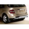 Брызговики оригинальные (зад., к-кт, 2 шт.) для Mercedes-Benz ML-class (W164) 2005-2012 (MERCEDES-BENZ, B66528229)