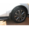 Брызговики оригинальные (с порогами пер., к-кт, 2 шт.) для Mercedes-Benz ML-class (W166) 2011+ (MERCEDES-BENZ, A1668900478)