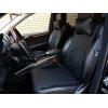 Накидки из экокожи на сиденья автомобиля (передние, к-кт. 2 шт.) (AVTOРИТЕТ, EKOKOGA)