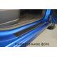 Защитная пленка на пороги (карбон, 4 шт.) для Hyundai Accent IV/Solaris 2011+ (Nata-Niko, KP-HY13)