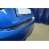 Защитная пленка на задний бампер (карбон, 1 шт.) для Mazda 3 III (4D) 2013+ (Nata-Niko, KZ-MA10)