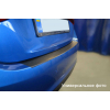 Защитная пленка на задний бампер (карбон, 1 шт.) для Nissan Tiida (4D) 2007+ (Nata-Niko, KZ-NI10)