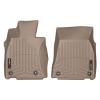 Коврик в салон (с бортиком, передние) для Lexus LS460 (AWD) 2012+ (WEATHERTECH, 455141)