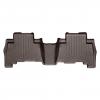 Коврик в салон (с бортиком, какао, задние) для Toyota Prado 150/Lexus GX460 2009+ (WEATHERTECH, 472862)