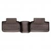 Коврик в салон (с бортиком, какао, задние) для Land Rover Evoque 2014+ (WEATHERTECH, 474043)