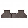 Коврик в салон (с бортиком, какао, задние) для BMW X5/X6 2014+ (WEATHERTECH, 475592)