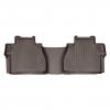 Коврик в салон (с бортиком, какао, задние) для Toyota Tundra Double Cab 2013+ (WEATHERTECH, 477862)