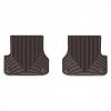 Коврик в салон (какао, задние) для Audi A6 2012+ (WEATHERTECH, W301CO)