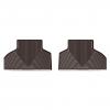 Коврик в салон (какао, задние) для BMW X5/X6 2014+ (WEATHERTECH, W326CO)