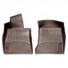 Коврик в салон (с бортиком, какао, передние) для Mercedes-Benz S-class (W222) 2013+ (WEATHERTECH, 475711)
