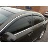 Дефлекторы окон (с молдингом) для Lexus LS 2006-2012 (HIC, LE22-M)