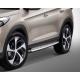 Боковые пороги (уценка) для Hyundai Tucson 2015+ (AVTM, OEHYT2015SALE)