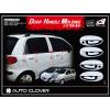 Хром накладки на ручки дверей (к-кт. 8 шт.) для Daewoo Matiz 1998-2004 (AUTOCLOVER, A281)