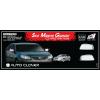 Хром накладки на зеркала (к-кт. 2 шт., без повторителя) для Chevrolet Epica 2006+ (AUTOCLOVER, A740)