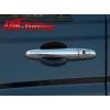 Накладки дверных ручек для Mercedes Vito W639 (Omsa Prime, 472104041)