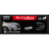 Хром накладки передних фар (к-кт. 2 шт.) для Chevrolet Tracker 2013-2015 (AUTOCLOVER, C484)