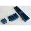 Накладки на педали (синие) для Kia Sportage (KX5) 2015+ (АКПП) (ASP, JMTKX5PCBL)