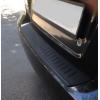 Накладка на задний бампер для Chevrolet Aveo (T250)/ ZAZ Vida/ Ravon R3 Nexia 2006+ (Automotiva, N-0006)