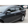Дефлекторы окон (с молдингом) для Lexus CT200h 2011+ (HIC, LE17-M)