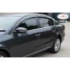 Дефлекторы окон (с молдингом) для Lexus GS 2012+ (HIC, LE18-M)
