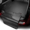 Коврик в багажник (зад., черный, большой с накидкой) для Tesla Model S 2012-2016 (WEATHERTECH, 40568SK)