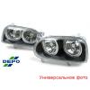 Фара противотуманная (правая) для Chevrolet Aveo HB 2008-2012 (DEPO, 235-2005R-UQ)