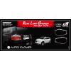 Хром накладки задних фар (к-кт. 4 шт.) для Chevrolet Orlando 2010+ (AUTOCLOVER, C404)
