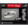 Хром накладки под дверные ручки (мыльницы) для Chevrolet Tracker/Opel Mokka 2013+ (AUTOCLOVER, C065)
