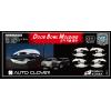 Хром накладки под дверные ручки (мыльницы) для Hyundai ix35 2008-2014 (AUTOCLOVER, C311)