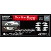 Хром накладки под дверные ручки (мыльницы) для Chevrolet Captiva 2006+ (AUTOCLOVER, C315)