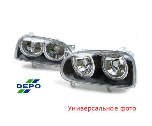 Фара противотуманная (левая) для Seat Altea/Ibiza/Leon/Volkswagen Polo 2002+ (DEPO, 441-2017L-UE)