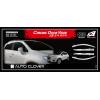 Дефлекторы окон (хром) для Chevrolet Tracker/Opel Mokka 2013+ (AUTOCLOVER, C525)