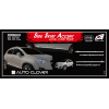 Хром молдинг двери (к-кт. 4 шт.) для Chevrolet Tracker 2013+ (AUTOCLOVER, B768)