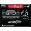 Хтом накладки в салон (к-кт. 8 шт.) для Hyundai Accent 2010+ (AUTOCLOVER, B786)