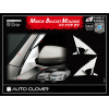 Хром накладки на уголок под зеркало (к-кт. 4 шт.) для Kia Optima 2010+ (AUTOCLOVER, B426)