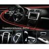 Хтом накладки в салон (к-кт. 8 шт.) для Chevrolet Aveo 2006-2011 (AUTOCLOVER, B794)