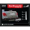 Хром накладки на парктроник и дворник (к-кт. 5 шт.) для Chevrolet Tracker 2013+ (AUTOCLOVER, C283)