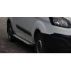 Боковые пороги (X5-TYPE, длинная база) для Ford Tourneo Custom 2013+ (Erkul, bra023.alg243)