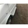 Боковые пороги (X5-TYPE) для Volkswagen LT/ Mercedes Sprinter (средняя база) 1995-2006 (Erkul, bra063.alg263)
