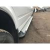 Боковые пороги (X5-TYPE) для Volkswagen LT/ Mercedes Sprinter (длинная база) 1995-2006 (Erkul, bra063.alg313)