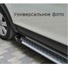 Боковые пороги (X5-TYPE) для Peugeot 2008 2013+ (Erkul, bra080.alg173)