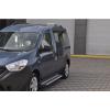 Боковые пороги (X5-TYPE) для Renault/Dacia Dokker 2012+ (Erkul, bra087.alg203)