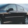 Накладки на двери Peugeot 407  к-т верхние (Omsa Prime, 570405141)