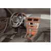 Декоративные накладки в салон (цвет: дерево) для BMW X3 2003-2010 (Meric, 34180)