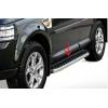 Боковые пороги (BlackLine) для Land Rover Range Rover Sport 2005-2013 (Erkul, bra083.bkl183)