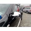 Накладки на зеркала (нерж., 2 шт.) для Renault/Dacia Sandero 2008+ (Omsa Prime, 2003111)