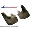 Брызговики передние (полиуретан, эконом) для Nissan Almera 2012+ (Novline, NLFD.36.40.F10)