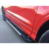 Боковые пороги (RedLine V1) для Peugeot 2008 2013+ (Erkul, bra080.rln1173)