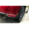 Накладки на задние противотуманные фары (верхние) для Mazda CX-5 2017+ (ASP, JMTCX517RFCB)