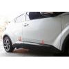 Хромированные молдинги на двери (малые) для Toyota C-HR 2016+ (ASP, SAA-SN2589)
